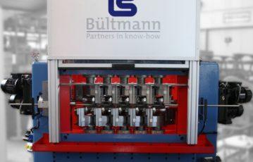 a new straightening machine at BÜLTMANN !