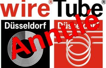 Salon WIRE & TUBE 2020 annulé