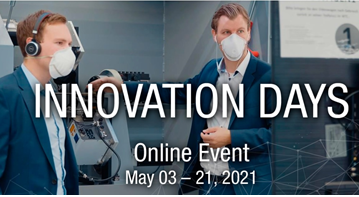 Innovation Days_Online Event – Mai 2021